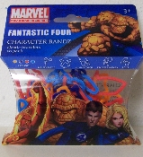 Marvel Fantastic Four Logo Silly Bandz Pack (20)