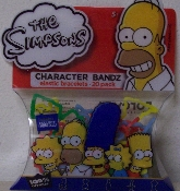 The Simpsons Series 1 Logo Silly Bandz Pack (20)