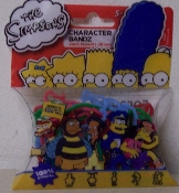 The Simpsons Series 6 Logo Silly Bandz Pack (20)