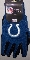 Indianapolis Colts Two Toned Utility Gloves