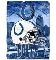 "Indianapolis Colts 60""x80"" Plush Fleece Throw Blanket"