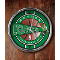 Boston Celtics Chrome Wall Clock