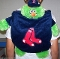 "Boston Red Sox ""Wally the Green Monster"" Mascot Backpack Pal"