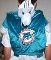 "Miami Dolphins Mascot ""T.D."" Backpack Pal"