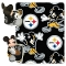 "Pittsburgh Steelers 40""x50"" Disney Hugger Fleece Throw Blanket"