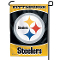 "Pittsburgh Steelers 11""x15"" Color Garden Yard Lawn Flag"