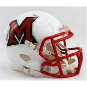 Miami Ohio Redhawks Replica Speed Mini Helmet Riddell