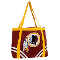 Washington Redskins Canvas Tailgate Tote Bag Purse