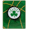 "Boston Celtics 60""x80"" Royal Plush Raschel Throw Blanket"