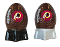 Washington Redskins NFL Salt and Pepper Shakers Ceramic