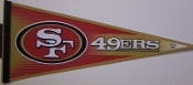 San Francisco 49ers Full Size Pennant
