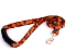 Cleveland Browns Medium Dog Ribbon Lead Leash Nylon 6' EZ Grip