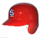 St. Louis Cardinals Full Size Batting Helmet Rawlings left flap