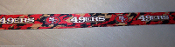 "San Francisco 49ers Breakaway Lanyard Key Chain 36"" Long CAMO!"