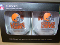 Cleveland Browns 16 oz Curved Beverage Stemless Wine Glasses