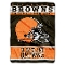 "Cleveland Browns 60""x80"" Plush Fleece Throw Blanket"