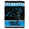 "Carolina Panthers 60""x80"" Plush Raschel Throw Blanket"