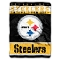 "Pittsburgh Steelers 60""x80"" Plush Throw Blanket"