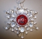 "Ohio State Buckeyes 3"" Traditional Snowflake Ornament"