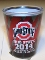 Ohio State Buckeyes 2014 National Champions Colored Shot Glass