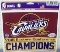 "Cleveland Cavs 2015 East Conference Champs 5""x6"" Color Decal"