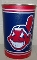 "Cleveland Indians 15"" Waste Basket"
