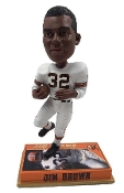 Jim Brown Cleveland Browns Legends Bobblehead Doll Limited