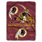 "Washington Redskins 60""x80"" Plush Throw Blanket"