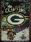 "Green Bay Packers 4 Time Super Bowl Champs 48""x60"" Tapestry"