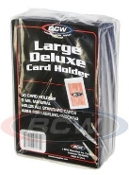 Large Semi-Rigid Card Holders BCW Brand Pack (50)