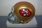San Francisco 49ers (64-95) Throwback Mini Helmet Riddell