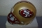 San Francisco 49ers (96-08) Throwback Mini Helmet Riddell