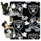 "Oakland Raiders 40""x50"" Disney Hugger Fleece Throw Blanket"