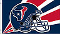Houston Texans 3'x5' Helmet Design Flag