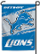 "Detroit Lions 11""x15"" Color Garden Yard Lawn Flag"