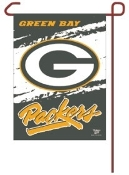 "Green Bay Packers 11""x15"" Color Garden Yard Lawn Flag"