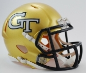 Georgia Tech Yellow Jackets Replica Speed Mini Helmet Riddell