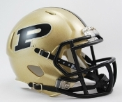Purdue Boilermakers Replica Speed Mini Helmet Riddell