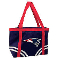 New England Patriots Canvas Tailgate Tote Bag Purse