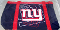 New York Giants Canvas Tailgate Tote Bag Purse