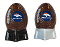 Denver Broncos NFL Salt and Pepper Shakers Ceramic