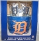 Detroit Tigers Metal Ice Bucket-4 16 oz Glasses-&-12 Coasters