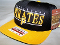Pittsburgh Pirates Hat Baseball Cap Flat Brim Block Letters