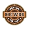 "Cleveland Browns 9""x10"" Man Cave - Fan Zone Wood Sign"