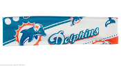Miami Dolphins NFL Stretch Style Elastic Headband Hairband