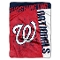 "Washington Nationals 60""x80"" Plush Raschel Throw Blanket"
