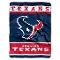 "Houston Texans 60""x80"" Plush Raschel Throw Blanket"