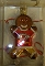 "Kansas City Chiefs 3"" Gingerbread Man Ornament"