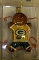 "Green Bay Packers 3"" Gingerbread Man Ornament"
