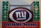"New York Giants 3"" Replica Football Ornament"